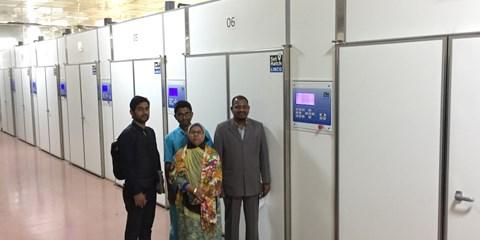 LINCO Incubator in Bangladesh