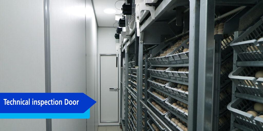 Technical inspection Door